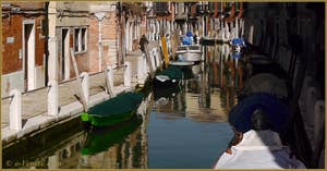 La Fondamenta de le Romite et le rio delle Eremite, dans le Sestier du Dorsoduro à Venise.