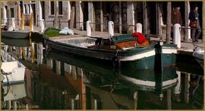 La Fondamenta de Borgo, le long du rio delle Eremite, dans le Sestier du Dorsoduro à Venise.