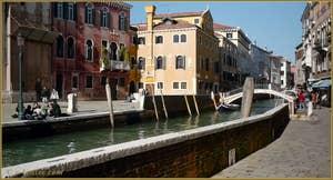 La Fondamenta Nani et le pont de San Trovaso, dans le Sestier du Dorsoduro à Venise.