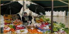 Salavatore, marchand de fruits et légumes sur le Campo Santa Maria Formosa