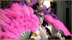 Le Carnaval de Venise, masques et costumes.