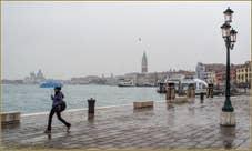 Pluie sur la Riva di Ca' di Dio
