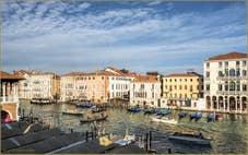 Le Grand Canal de Venise et ses palais