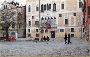 Le Palazzo Badoer Gritti, Campo de la Bragora