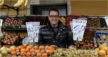 Cristiano, fruits et légumes, Campo Barba Frutariol, Cannaregio