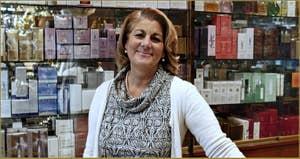 Donatella, parfumerie Mimosa, Salizada dei Greci, Castello