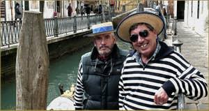 Giovanni et Franco, Gondoliers à l'Osmarin et à Santa Maria Formosa, Castello