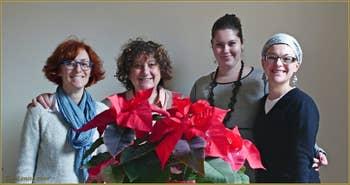 Barbara, Liviana, Valentina et Agnese