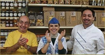 Roberto, Arianna et Ivan des pâtes Serenissima