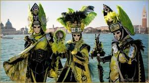 Le Carnaval de Venise : La Belle de la Lagune de Venise et ses Chevaliers.