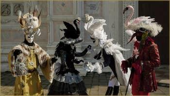 Carnaval de Venise : Les Cygnes de San Zaccaria
