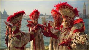 Le Carnaval de Venise : Les Fées de San Giorgio Maggiore.