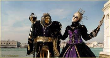 Carnaval de Venise : Le Roi et la Princesse