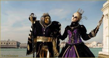 Le Carnaval de Venise : Le Roi et la Princesse.