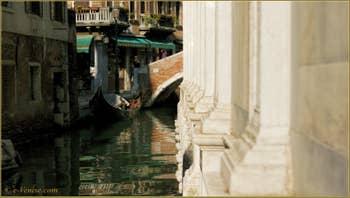 Le rio dei Miracoli, le long de l'église Santa Maria dei Miracoli