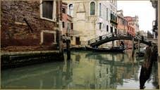 Le rio de San Giovanni Laterano et le pont dei Consafelzi