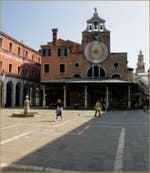L'église San Giacometto, sur le Campo San Giacomo de Rialto