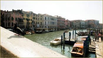 La Riva del Vin et le Grand Canal de Venise