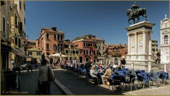 Le Campo San Giovanni e Paolo, dans le Sestier du Castello à Venise.