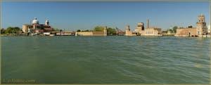 L'île de San Pietro et l'Arsenal de Venise.