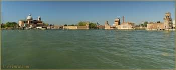 L'île de San Pietro et l'Arsenal de Venise