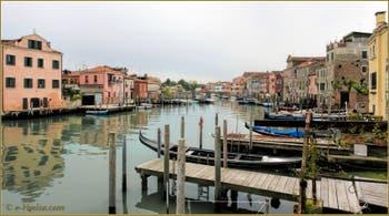 Le Canal de San Pietro di Castello à Venise.