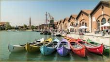 Caorline de régate à l'Arsenal de Venise