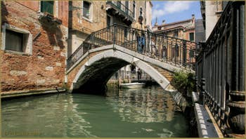 Le pont Cavagnis et le rio de San Severo
