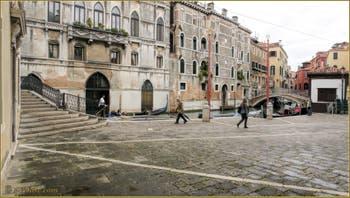 La Fondamenta Santa Maria Formosa, dans le Sestier du Castello à Venise.