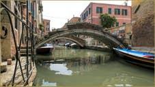 Le pont Chiodo sur le rio de San Felice
