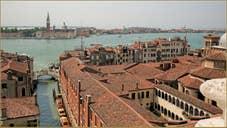 Venise vue du ciel depuis le Campanile dei Greci