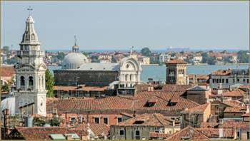 Le Campanile de Santa Maria Formosa et l'église de San Zaccaria
