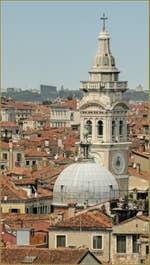 Le campanile de Santa Maria Formosa vu depuis le Campanile dei Greci