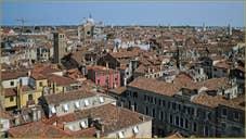 Venise vue du Ciel : le Cannaregio et le Castello