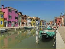 Le rio de la Giudecca à Burano