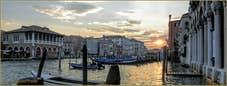 Coucher de Soleil sur le Grand Canal