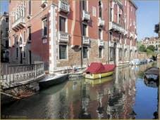 Le palazzo Seriman et le rio de Sant'Andrea
