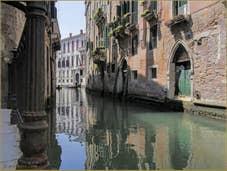 Le rio de San Severo et le Palazzo Grimani