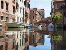 Les reflets du rio Sant'Andrea
