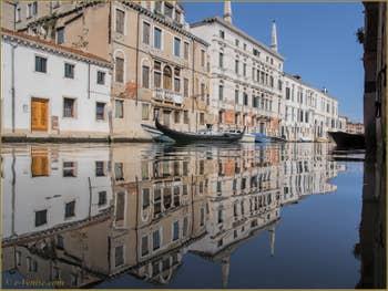 Les reflets du rio de la Madona de l'Orto