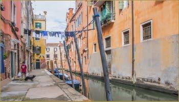 La Fondamenta Labia et le rio de le Torete, dans le Sestier du Cannaregio à Venise.