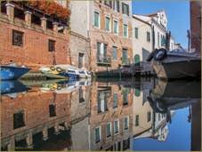 Reflets sur le rio de San Francesco de la Vigna