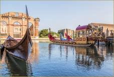 Le Gondolone de la Francescana, dans l'Arsenal de Venise