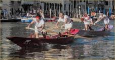 Regata Storica de Venise : La Régate Féminine sur Mascarete