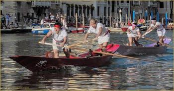 Regata Storica de Venise : La Régate Féminine sur Mascarete.