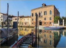 Les Reflets du Canal San Donato à Murano