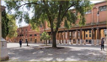 Campo de la Confraternita, chez le Commissaire Brunetti, dans le Sestier du Castello à Venise