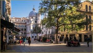 Le Campo de Santa Maria Nova et l'église dei Miracoli, dans le Sestier du Cannaregio à Venise