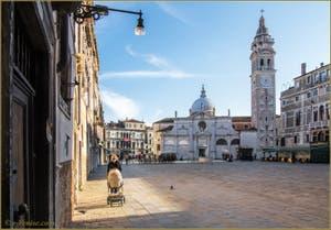 Le Campo de Santa Maria Formosa et son église, dans le Sestier du Castello à Venise.