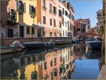 Le rio, le pont et la Fondamenta de Sant'Andrea, dans le Sestier du Cannaregio à Venise